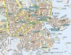 helsinki finland tourist map helsinki finland mappery