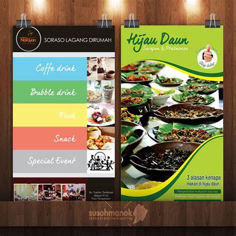 jasa desain menu makanan jasa desain menu restoran jogja berkualitas