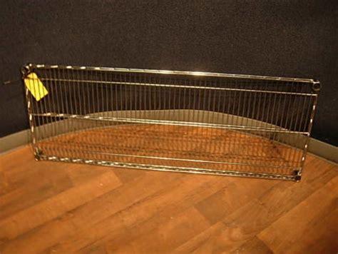 Nsf Shelf Tech System Parts used shelf tech systems wire shelf chrome nsf 48 x 18