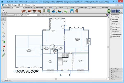turbo floor plan turbofloorplan 3d home landscape pro 17 0 6 rus