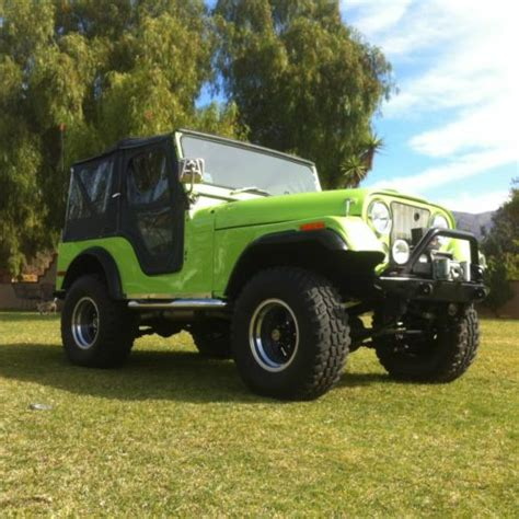 1972 Jeep Cj5 Buy Used 1972 Jeep Cj5 Fully Restored Every Bell