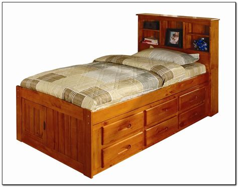 captains bed size size captains bed broyhill marco island