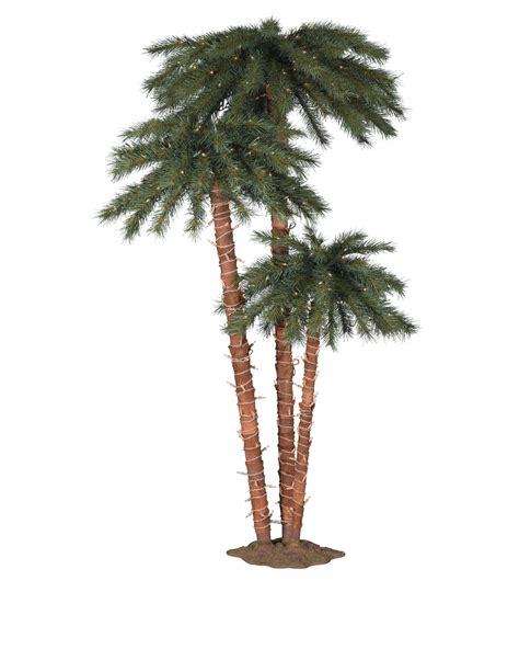 Catalina Breeze Palm Trees Treetopia Lighted Trees Artificial
