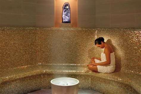 La Fitness With Steam Room by Luxury New York Spa Overview Mandarin New York