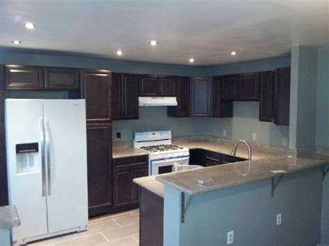 Dark Cabinets White Appliances For The Home Pinterest Kitchens With White Cabinets And Black Appliances