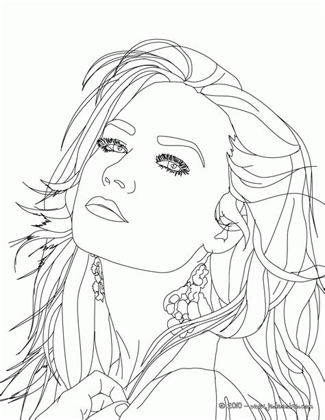 coloring pages of selena gomez coloring home