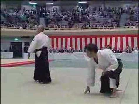 Iriminage Hiroshi Ikeda aikido mitsugi saotome staff of aikido funnycat tv