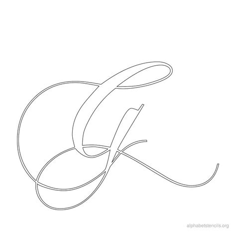 calligraphy templates alphabet calligraphy stencils images