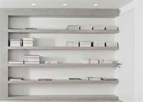 libreria in gesso amazing parete libreria in cartongesso with libreria