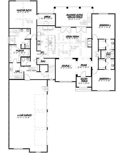 small ranch house floor plans manor small ranch home plan 055d 0013 house plans