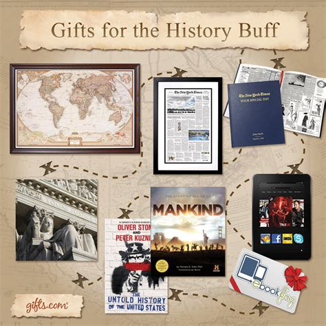 gifts for history buffs gift ftempo
