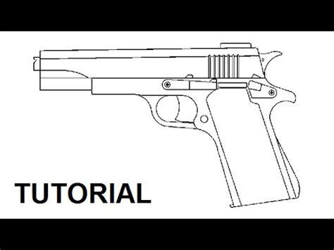 tutorial blowback rubber band gun youtube