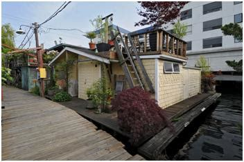 jacobs well houseboat lake union floating homes 187 seattle floating homes