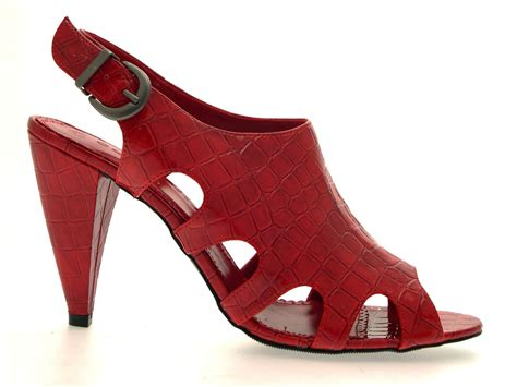 high heeled crocs womens high heels peeptoe patent croc cut outs shoes