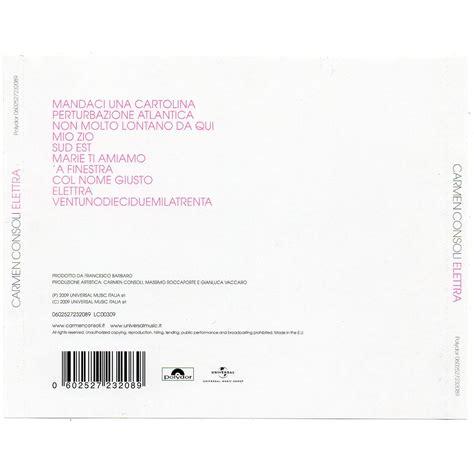 consoli elettra elettra consoli mp3 buy tracklist