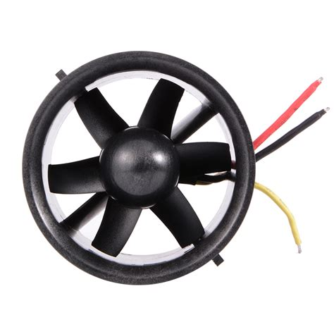 70mm ducted fan 70mm ducted fan 6 blade with electric motor qf2822 3000kv