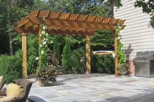 Best Vines For Pergola by Flagstone Patio Amp Retaining Wall Designs Masonry