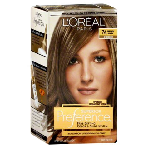 7a hair color l oreal preference superior 7a ash