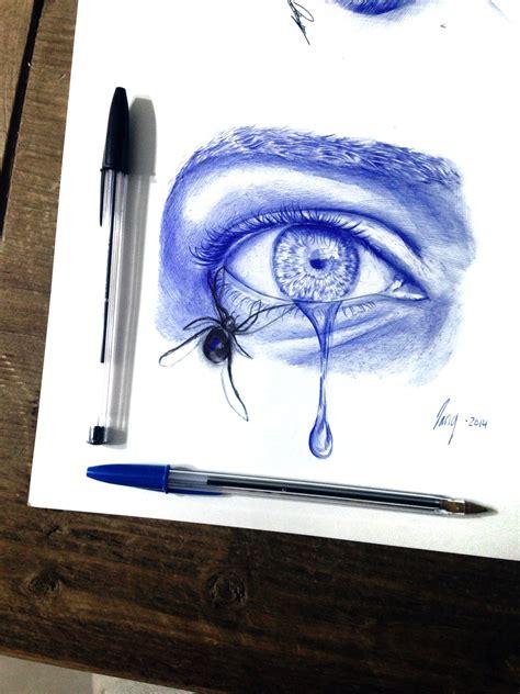 ballpoint pen doodle ballpoint pen eye doodle by godofpen on deviantart
