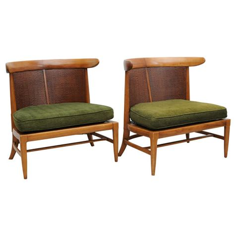 Low Seating Furniture by Pair Of Vintage Mid Century Low Chairs At 1stdibs