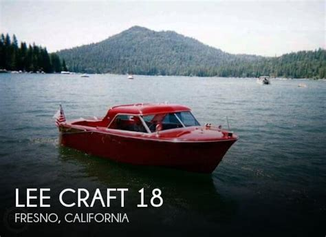 boats for sale fresno california sold lee craft 18 boat in fresno ca 064428