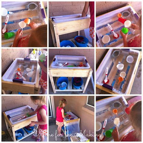 Diy Sensory Table by Tot School Tuesday Diy Sensory Table Mine For The