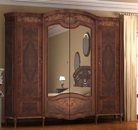 armoire styles old style wardrobe bed room 3d model