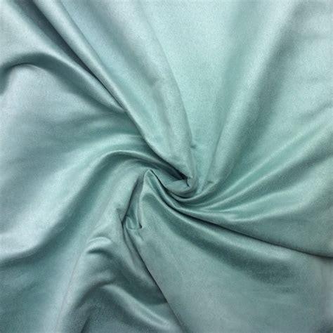Blue Green Upholstery Fabric Seafoam Aqua Blue Green Suede Fabric Drapery Fabric