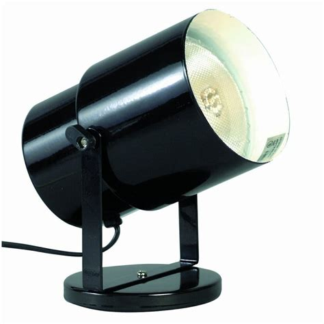 Portable Light Fixtures Satco Products Sf77 394 Multi Purpose Portable Spot Light Black