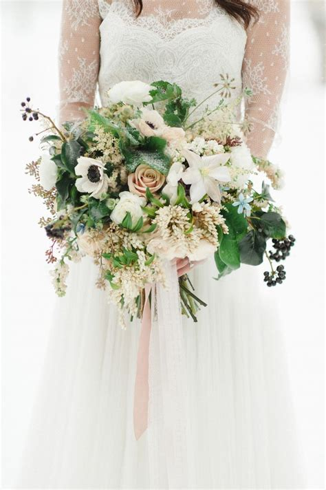 Wedding Bouquet Winter by 5 Of The Most Gorgeous Winter Bridal Bouquets Chic