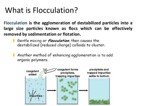 What Is A Relationship Removal Of Colour And Turbidity Coagulation Flocculation