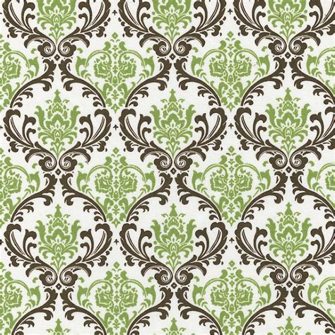 pattern background fabric sage damask fabric by the yard green fabric carousel