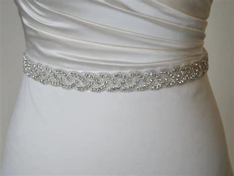 beaded belts for dresses all around bridal belt belt rhinestone belt