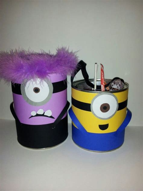 minions   recycled coffee  formula cans upcycling pinterest coffee minions