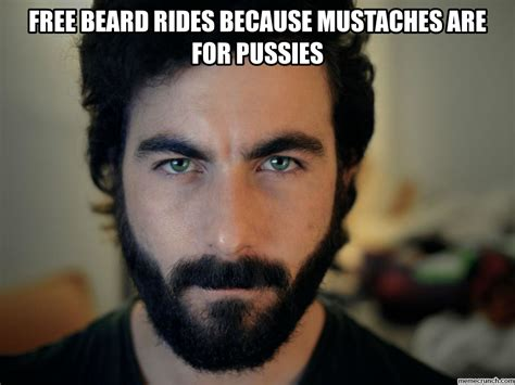 Sexest Memes - beard rides