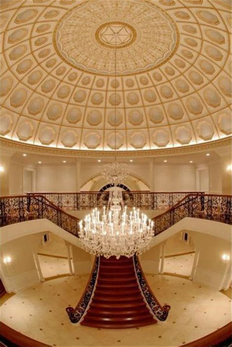 Italian Ceiling Estate Of The Day 15 Million Baroque Chateau In Mclean