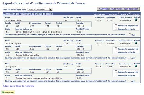 Demande De D Gr Vement Taxe D Habitation Lettre Type approbation en lot d une demande de paiement de bourse