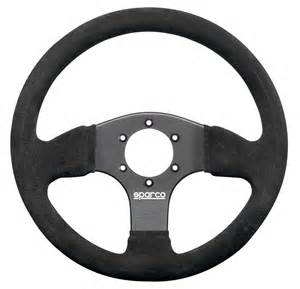 Steering Wheel And Sparco Racing 300 Suede Black Steering Wheel Sparcoracingusa