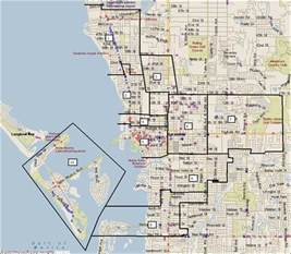 sarasota florida city map sarasota florida mappery