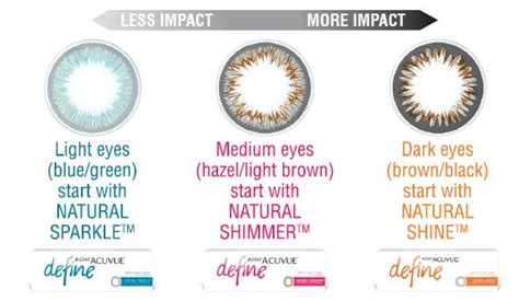 color define 1 day acuvue define colored contact lenses crozet eye care