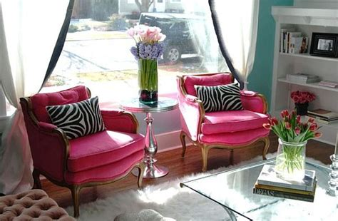 pink living room chairs pink room decor how to beautify your home with pink