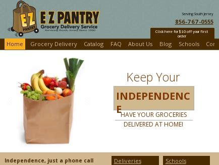 e z pantry grocery delivery service west berlin nj
