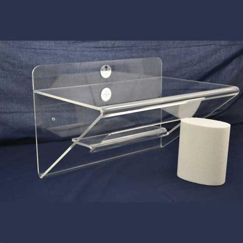 mensola in plexiglass mensola plexiglass piegata con nicchia e mensolina