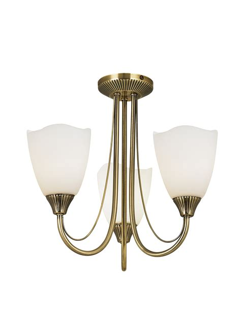 haughton 3lt semi flush 60w dining room lighting