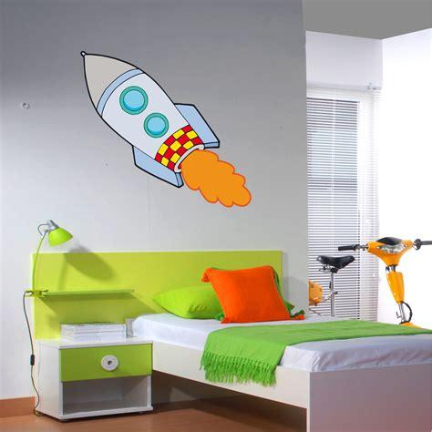 rocket wall sticker wallstickers folies rocket wall stickers