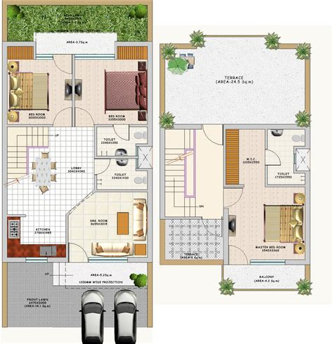 indian home design ideas with floor plan indian bungalow house plan outstanding duplex designs
