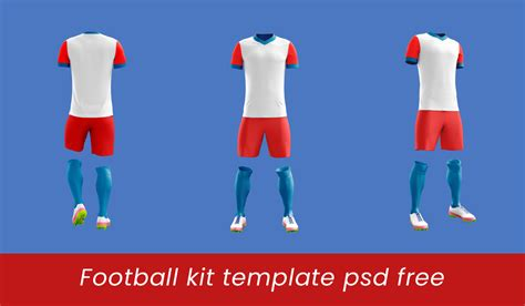 Football Kit Template Psd Free