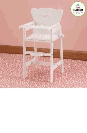 kidkraft bow wooden doll high chair kidkraft doll high chair kidkraft wooden doll