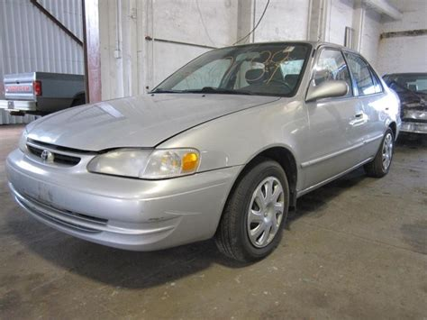 toyota corolla 1999 parts parting out 1999 toyota corolla stock 120189 tom s