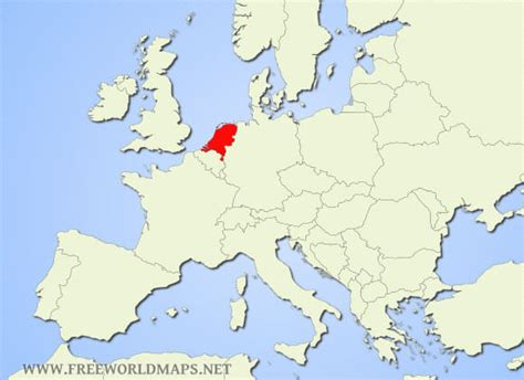 netherlands world map location netherland map in europe gallery
